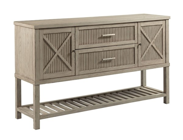 American Drew West Fork Aged Taupe Sloan Sideboard AMDRW-924-857