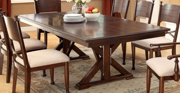 Furniture of America Descanso Dining Table FOA-CM3558T-TABLE