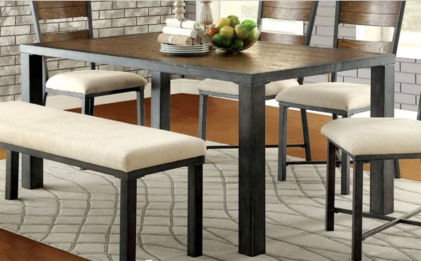 Furniture of America Jazlyn I Dining Table FOA-CM3686T-TABLE
