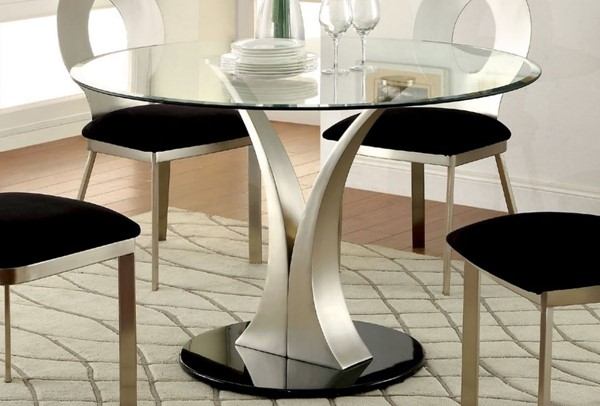 Furniture of America Valo Round Dining Table FOA-CM3727T-TABLE