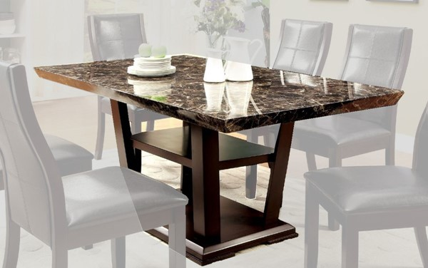 Furniture of America Clayton I Dining Table FOA-CM3933T-TABLE