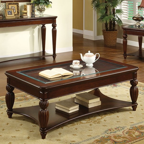 Furniture of America Windsor Coffee Table FOA-CM4390C