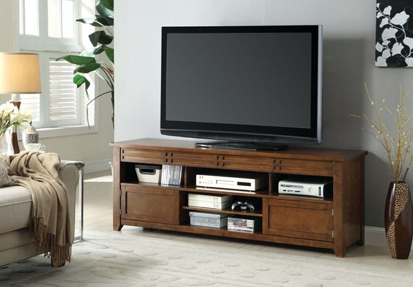 Furniture of America Dara 66 Inch TV Stand FOA-CM5333-TV