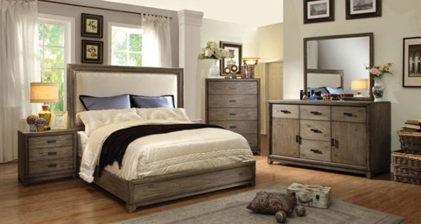 Furniture of America Antler Master Bedroom Set FOA-CM7615-BR