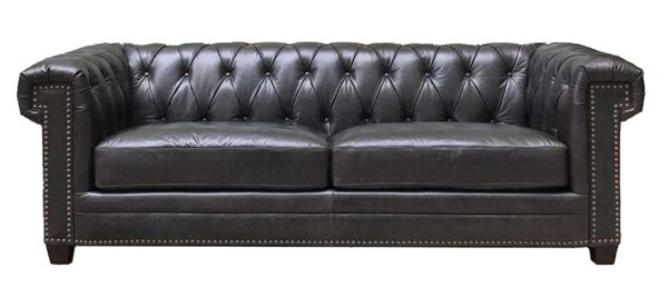 Hydeline Hilton Black Sofa AMX-6977SO1608
