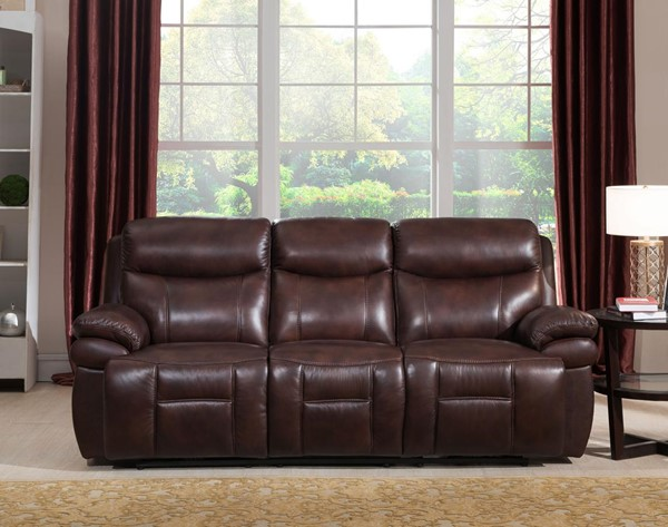 Hydeline Summerlands II Brown Power Sofa with Drop Down Table AMX-9856SO2032