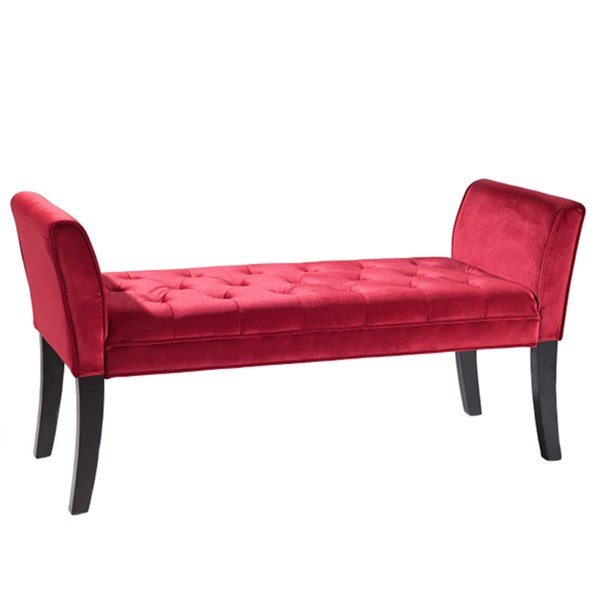 Armen Living Chatham Red Bench ARM-LC0845BERE