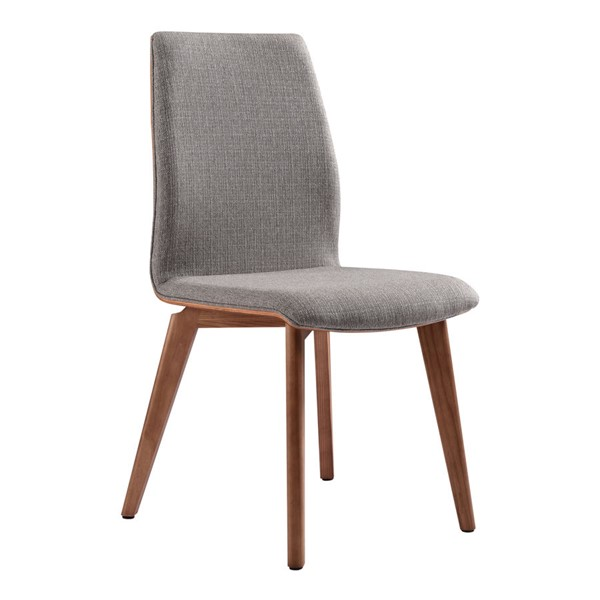 2 Armen Living Archie Gray Dining Chairs ARM-LCACSIGR