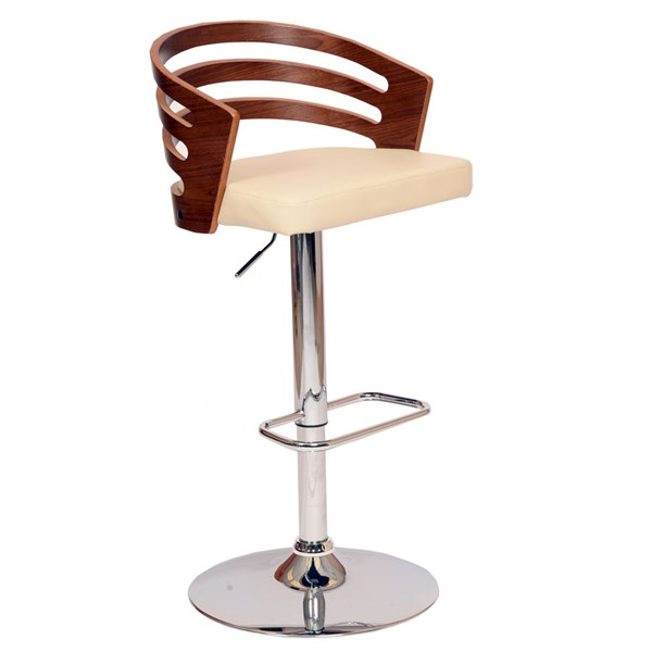 Armen Living Adele Cream Bar Stool ARM-LCADSWBACRWA