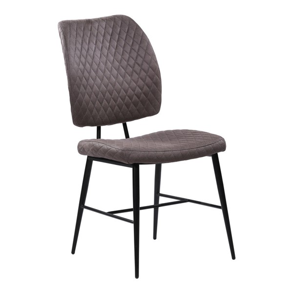 2 Armen Living Buckley Grey Dining Chairs ARM-LCBCSIGR