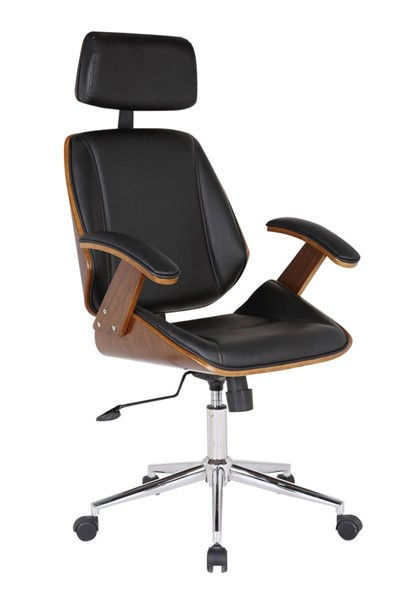 Armen Living Century Black Office Chair ARM-LCCEOFCHBL