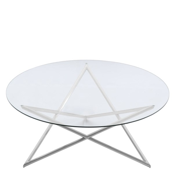 Armen Living Crest Coffee Tables ARM-LCCRCOGL-CT-VAR