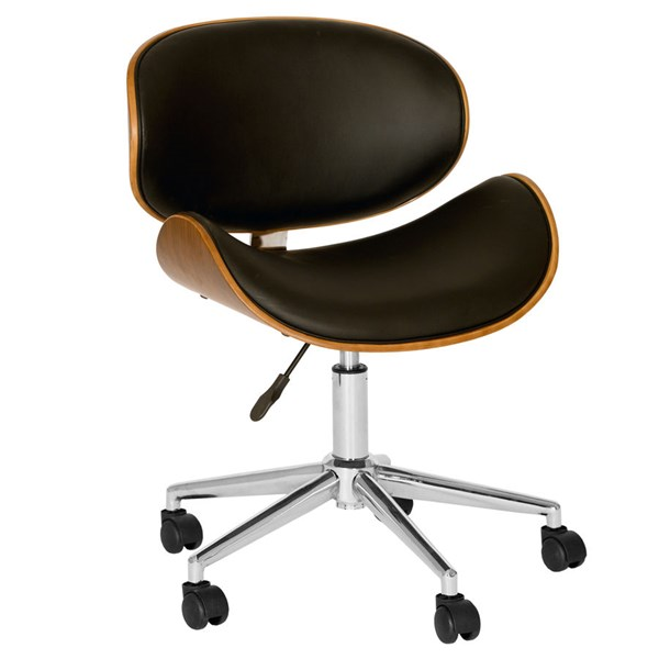 Armen Living Daphne Black Chair ARM-LCDAOFCHBL