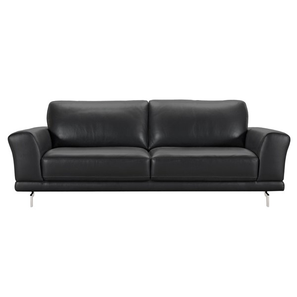 Armen Living Everly Black Sofa ARM-LCEV3BL