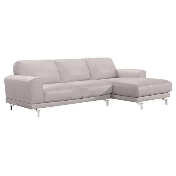 Armen Living Everly Dove Grey Sectional ARM-LCEVSEGR