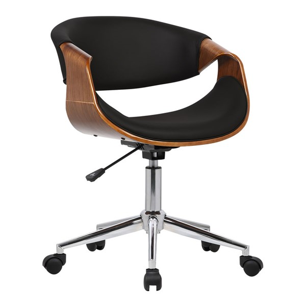 Armen Living Geneva Black Office Chair ARM-LCGEOFCHBLACK