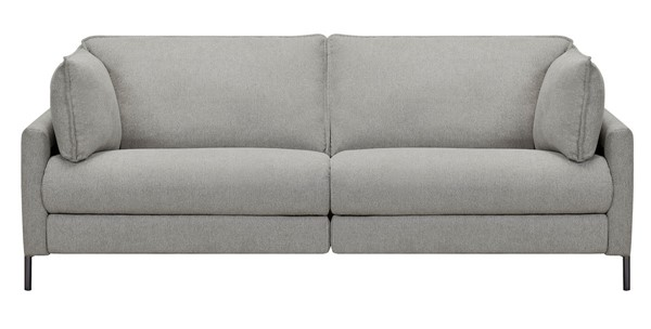 Armen Living Juliett Gray Pebble Fabric Power Reclining Sofas ARM-LCJU3-SF-V