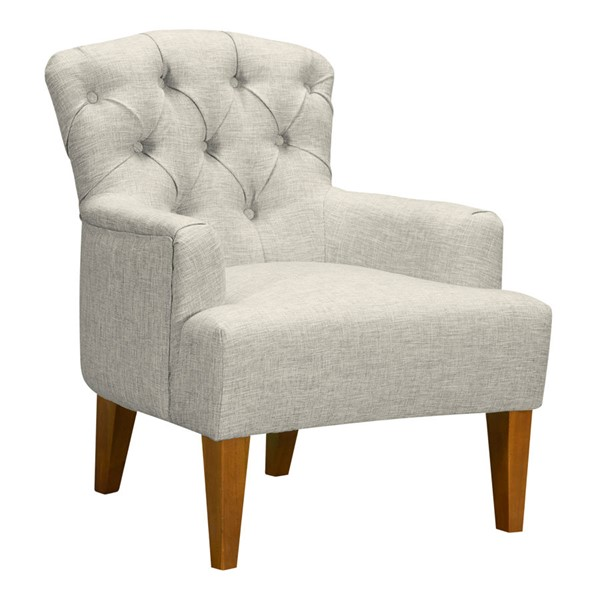 Armen Living Jewel Beige Accent Chair ARM-LCJWCHBE