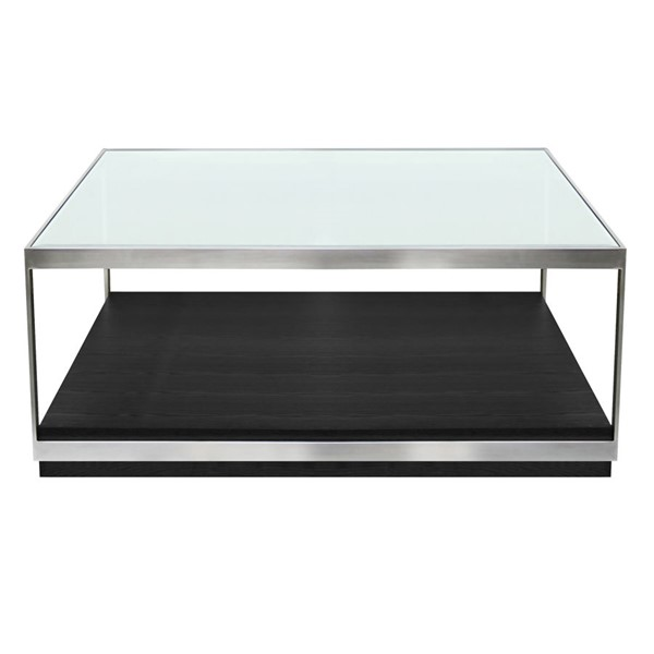 Armen Living Manchester Black Coffee Table ARM-LCMHCOBL