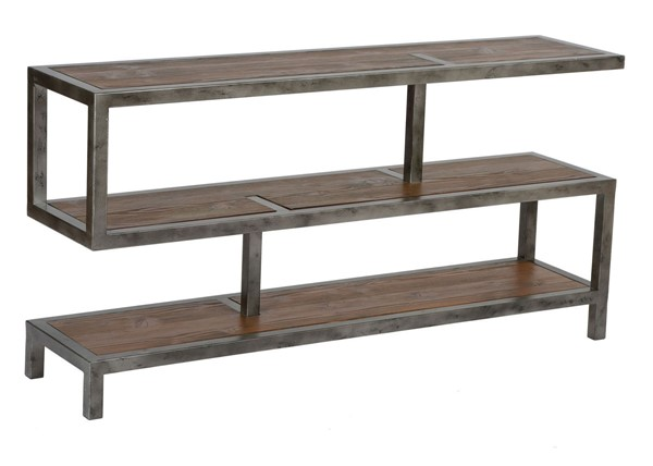 Armen Living Maxton Natural Console Table ARM-LCMXCNMT