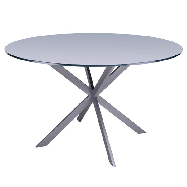 Armen Living Mystere Grey Dining Table ARM-LCMYDIBAGREY