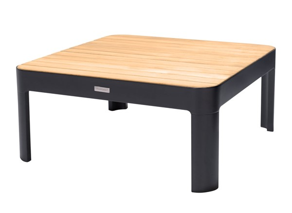 Armen Living Portals Natural Teak Wood Outdoor Square Coffee Tables ARM-LCP-OUT-CT-VAR