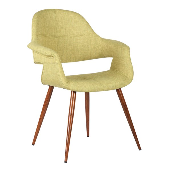 Armen Living Phoebe Green Dining Chair ARM-LCPHSIWAGREEN