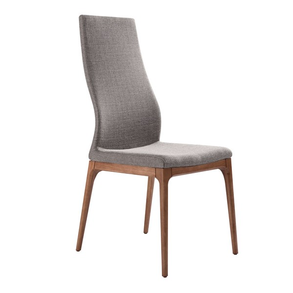 2 Armen Living Parker Gray Dining Chairs ARM-LCPKSIGR