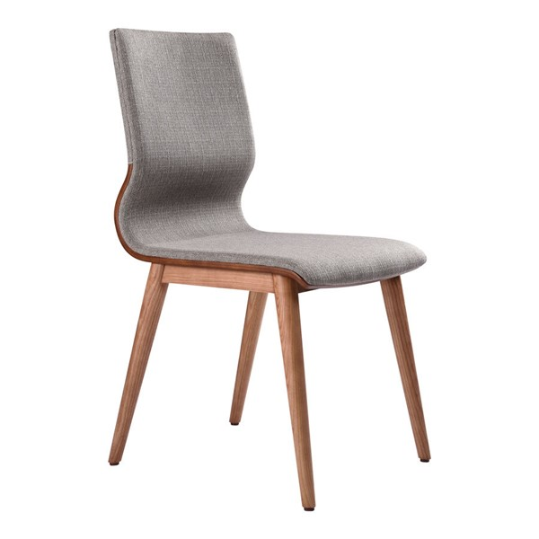 2 Armen Living Robin Gray Dining Chairs ARM-LCRBSIGR