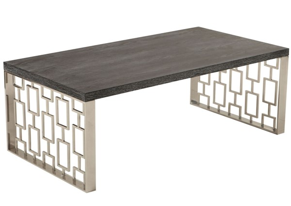 Armen Living Skyline Charcoal Coffee Table ARM-LCSKCOBLMT