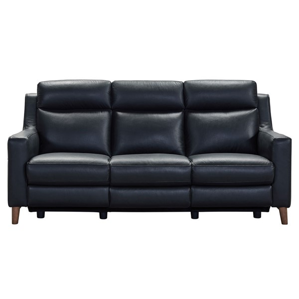 Armen Living Wisteria Black Sofa ARM-LCWS3BLK