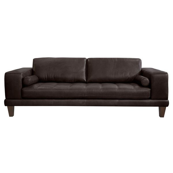 Armen Living Wynne Espresso Sofa ARM-LCWY3BROWN