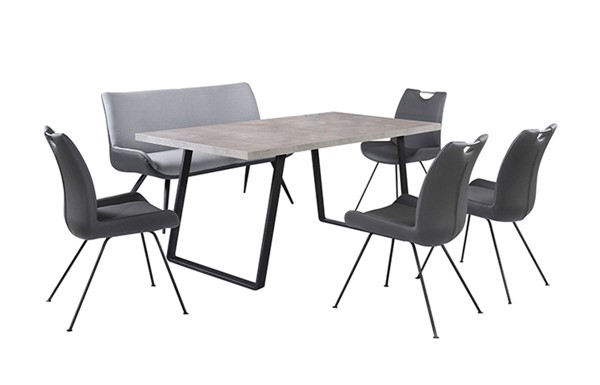 Armen Living Coronado 6pc Rectangular Dining Room Sets ARM-SETCDDI6-DR-VAR