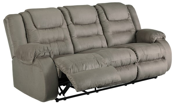 Ashley Furniture Segburg Cobblestone Reclining Sofa 1010488