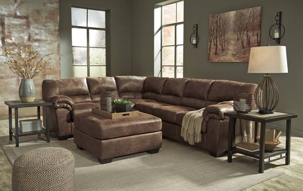 Ashley Furniture Bladen Coffee Laf Sofa And Ottoman