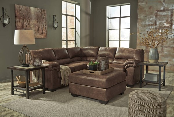 Ashley Furniture Bladen LAF Loveseat and Ottoman Sectionals 12000-SEC-VAR7