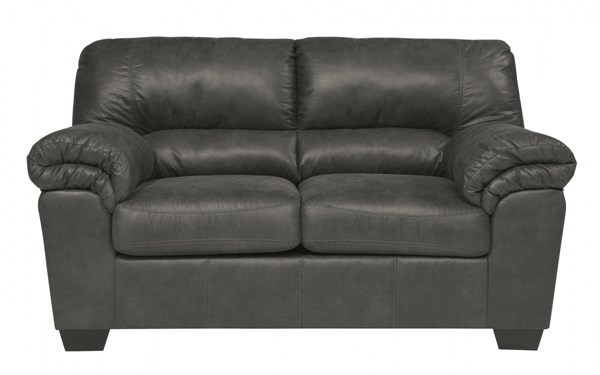 Bladen Contemporary Slate Pillow Top Arms & Cushion Back Loveseat 1200135