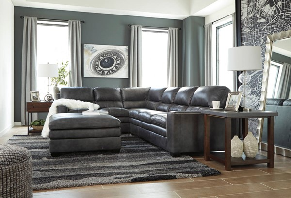Ashley Furniture Gleason RAF Sofa and Ottoman Sectionals GLEASON-VAR16