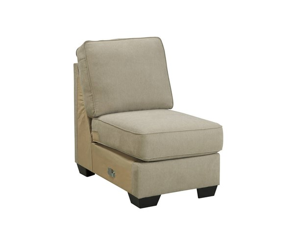 Alenya Vintage Casual Quartz Fabric Armless Chair 1660046