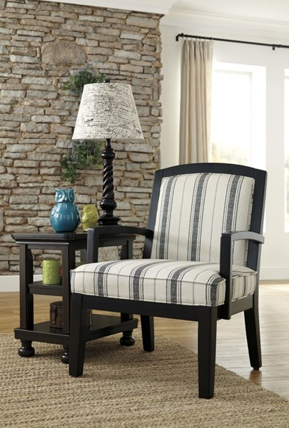 Alenya Quartz Polyester Accent Chair 1660060