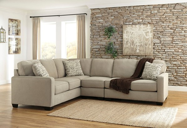 Ashley Furniture Alenya Quartz RAF Loveseat And LAF Sofa Sectional 1660046-SEC3