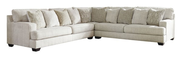 Ashley Furniture Rawcliffe Parchment Sectional 19604-SEC-S2