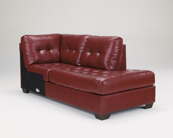 Alliston DuraBlend Salsa Leather PVC RAF Corner Chaise 2010017