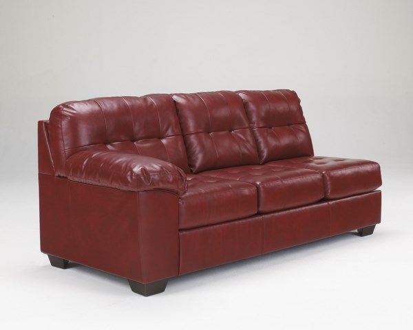 Alliston DuraBlend Salsa Leather PVC LAF Sofa 2010066