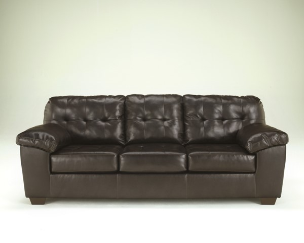 Ashley Furniture Alliston Durablend Chocolate Sofa 2010138