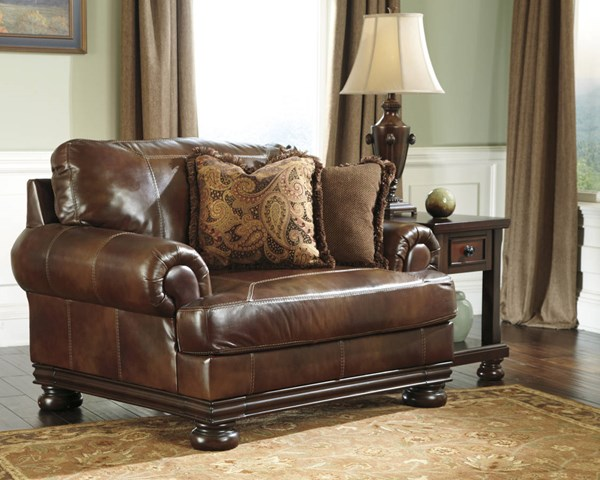 Hutcherson Harness Leather Chair and a Half 2110023