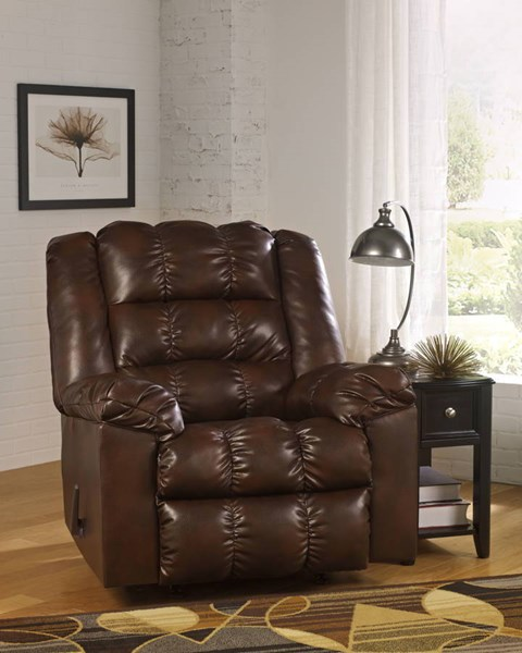 Hatton DuraBlend Contemporary PU Fabric Rocker Recliner 21800-REC-VAR