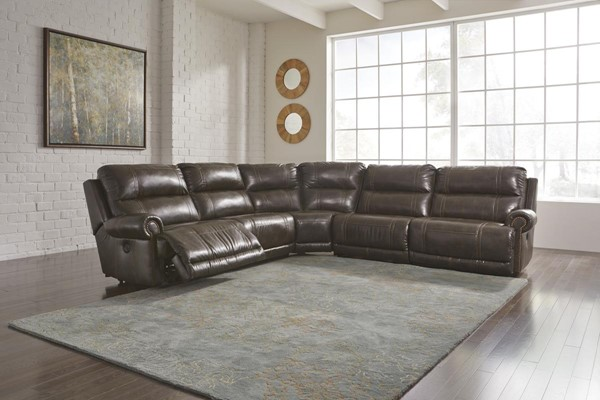 Ashley Furniture Dak Durablend Antique Sectionals 22700-VAR-SEC