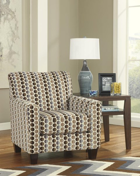 Geordie Contemporary Cafe Fabric Accent Chair 2350021