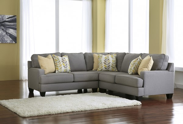 Ashley Furniture Chamberly Alloy Sectional 24302-55-77-56-SEC